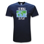 The World is Flat Soccer T-Shirt
