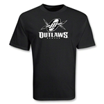 Denver Outlaws MLL Lacrosse T-Shirt (Black)