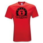 Rugby Oregon 7's T-Shirt (Red)
