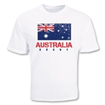 Australia Country Rugby Flag T-Shirt