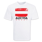 Austria Country Rugby Flag T-Shirt