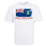 British Virgin Islands Country Rugby Flag T-Shirt