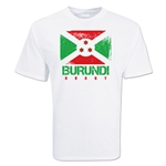 Burundi Country Rugby Flag T-Shirt