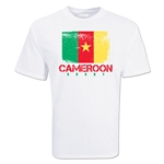 Cameroon Country Rugby Flag T-Shirt