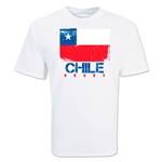 Chile Country Rugby Flag T-Shirt