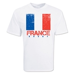 France Country Rugby Flag T-Shirt