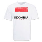 Indonesia Country Rugby Flag T-Shirt