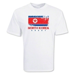 North Korea Country Rugby Flag T-Shirt