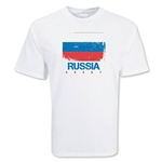 Russia Country Rugby Flag T-Shirt