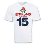 England Country 15 Rugby T-Shirt (White)