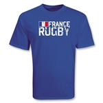France Supporter Rugby T-Shirt (Royal)