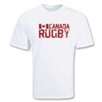 Canada Rugby Supporter T-Shirt (White)