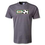 Utopia Can't Keep Off the Grass T-Shirt (Dark Gray)