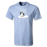 Utopia Penguin T-Shirt (Sky Blue)