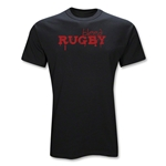 Bleed Rugby T-Shirt (Black)