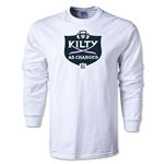 Kilty as Charged Alternative Rugby Commentary LS T-Shirt (White)