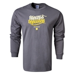 Shackle Draggers Alternative Rugby Commentary LS T-Shirt (Dark Gray)