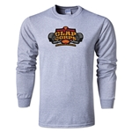 Clap Corps Alternative Rugby Commentary LS T-Shirt (Gray)