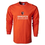 Charlotte Eagles Soccer LS T-Shirt (Orange)