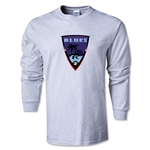 Orange County Blues Soccer LS T-Shirt (Ash)