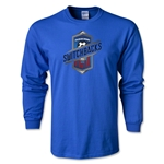 Colorado Springs Switchbacks Soccer LS T-Shirt (Royal)