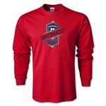 Colorado Springs Switchbacks Soccer LS T-Shirt (Red)