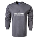Colorado Springs Switchbacks Soccer LS T-Shirt (Dark Grey)