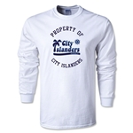 Harrisburg City Islanders Soccer LS T-Shirt (White)
