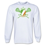 Ireland LS Lacrosse T-Shirt (White)