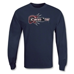 Boston Cannons MLL LS Lacrosse T-Shirt (Navy)