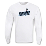 Ohio Machine MLL LS Lacrosse T-Shirt (White)