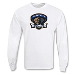 Charlotte Hounds MLL LS Lacrosse T-Shirt (White)