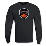 Hamilton Nationals MLL LS Lacrosse T-Shirt (Black)