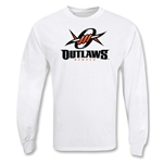 Denver Outlaws MLL LS Lacrosse T-Shirt (White)