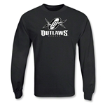Denver Outlaws MLL LS Lacrosse T-Shirt (Black)