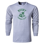 Rugby Connecticut Long Sleeve Statement T-Shirt (Grey)