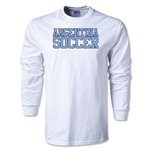 Argentina Soccer Supporter LS T-Shirt (White)