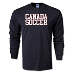 Canada Soccer Supporter LS T-Shirt (Black)