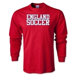 England Soccer Supporter LS T-Shirt (Red)