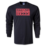 Georgia Soccer Supporter LS T-Shirt (Black)