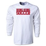Hong Kong Soccer Supporter LS T-Shirt (White)