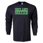 Ireland Soccer Supporter LS T-Shirt (Black)