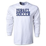 Israel Soccer Supporter LS T-Shirt (White)