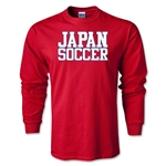 Japan Soccer Supporter LS T-Shirt (Red)