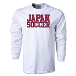 Japan Soccer Supporter LS T-Shirt (White)
