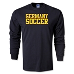 Germany Soccer Supporter LS T-Shirt (Black)