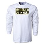 Germany Soccer Supporter LS T-Shirt (White)