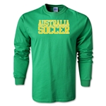 Australia Soccer Supporter LS T-Shirt (Green)