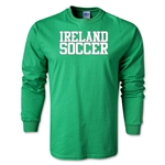 Ireland Soccer Supporter LS T-Shirt (Green)