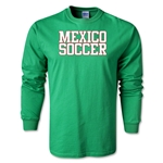 Mexico Soccer Supporter LS T-Shirt (Green)